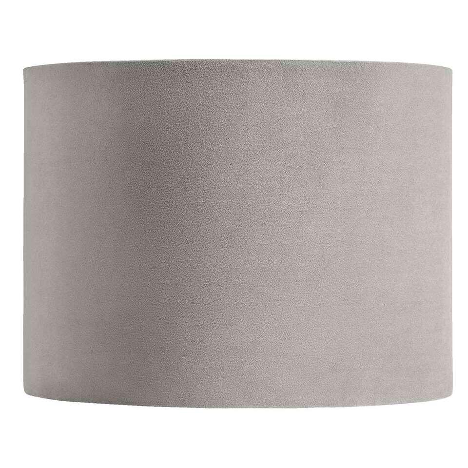 Kap Cilinder - grijs - 40x30 cm