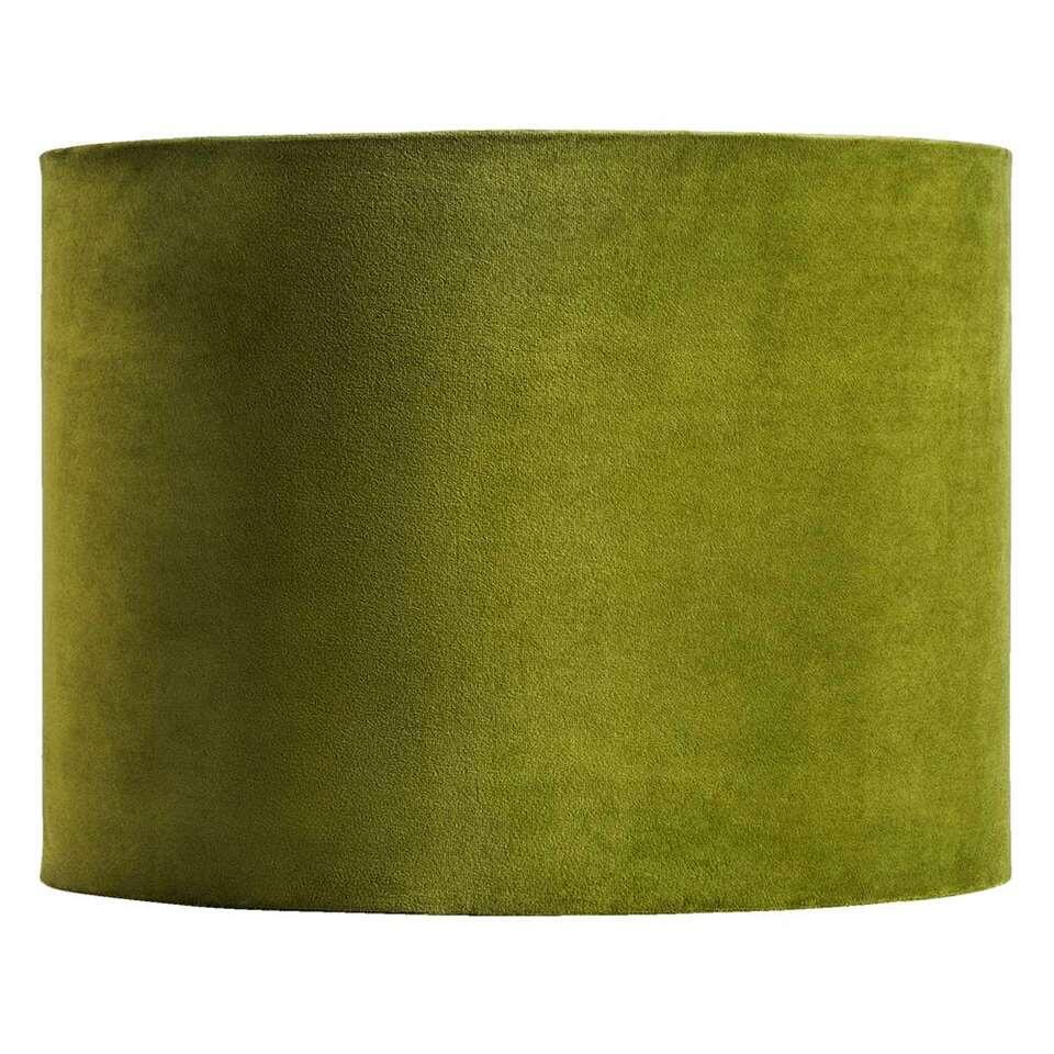 Kap Cilinder – groen – Ø40×30 cm – Leen Bakker