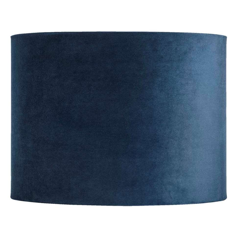 Kap Cilinder - blauw - 40x30 cm