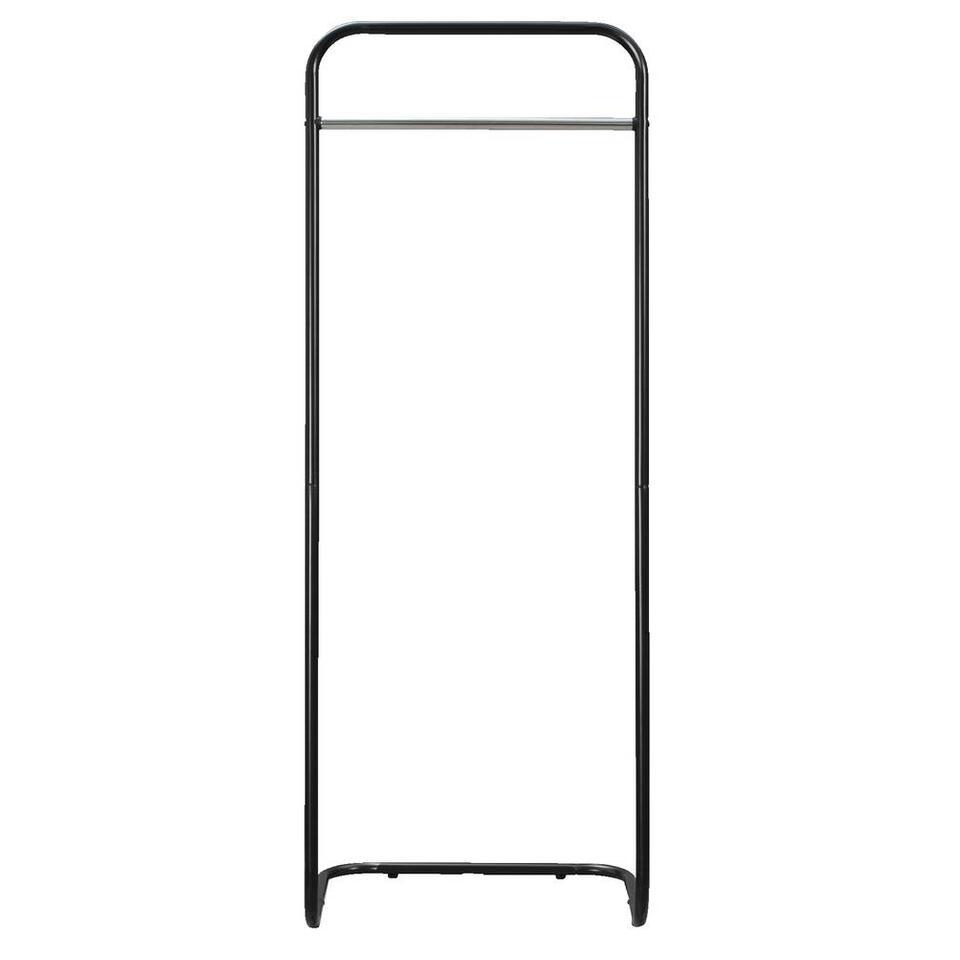 Kledingrek Nagoya - zwart - 161x60x50 cm