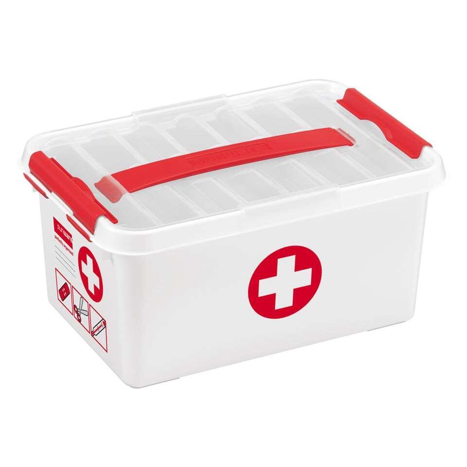 Opbergbox Q-line First Aid - 6l