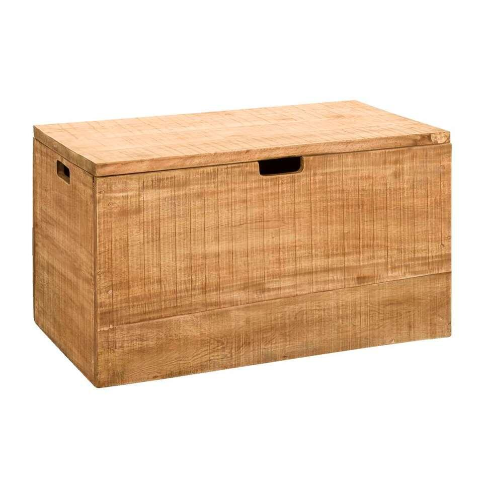 Opbergkist Ronald – naturel – 45x80x45 cm – Leen Bakker