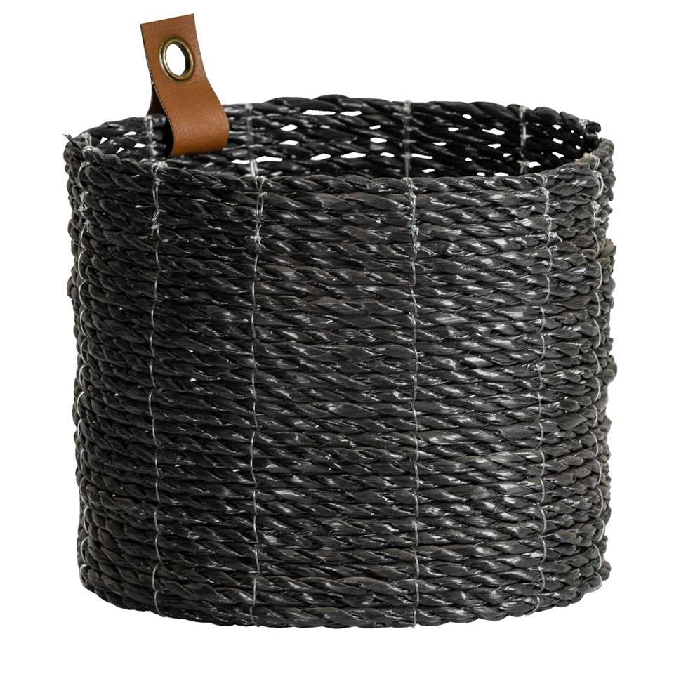 Mand Santiago - zwart - 20x17 cm