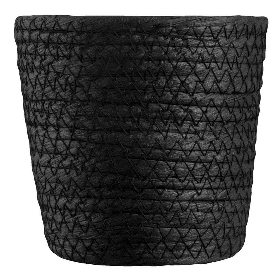 Mand Gert-Jan - zwart papier - 12x12 cm