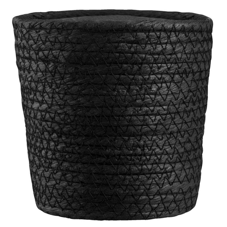 Mand Gert-Jan - zwart papier - 14x14 cm