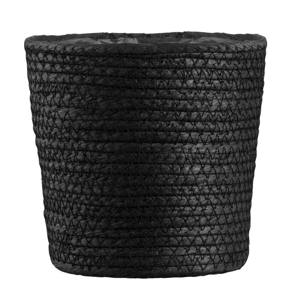 Mand Gert-Jan - zwart papier - 16x16 cm