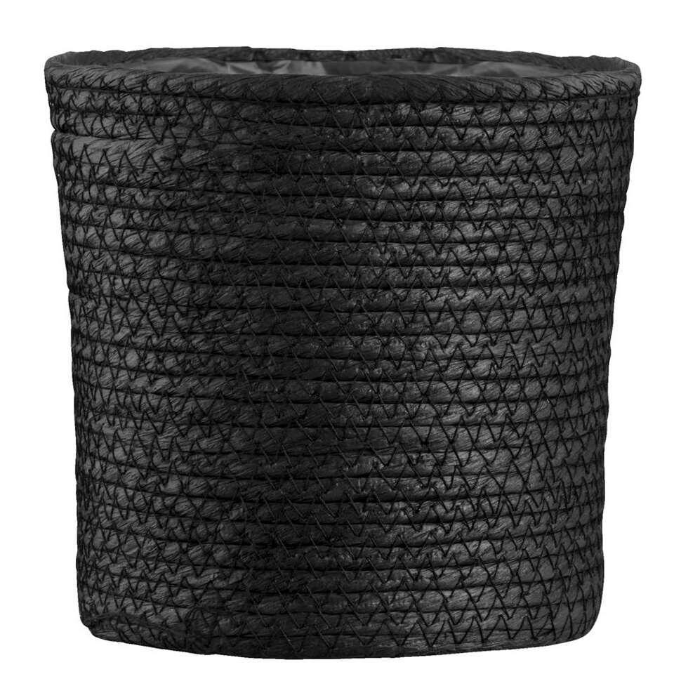 Mand Gert-Jan - zwart papier - 18x18 cm