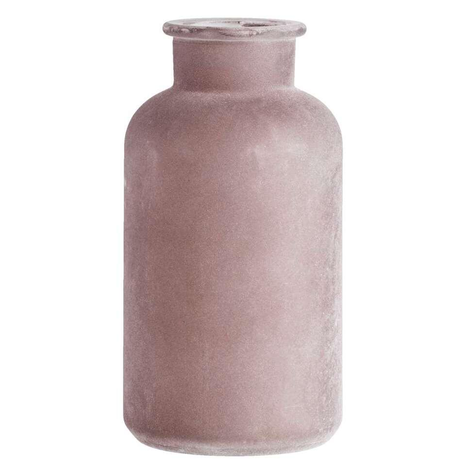 Fles Wibe - taupe - 21xØ10 cm