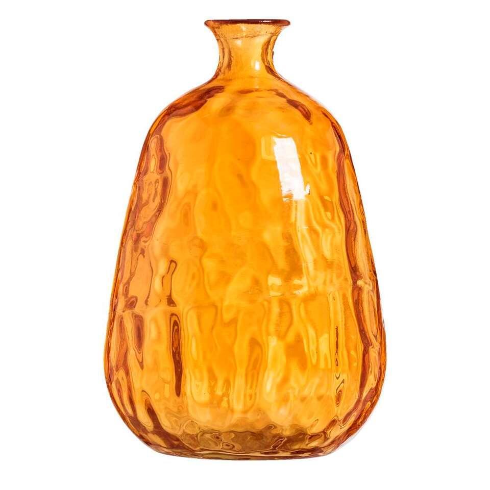 Vaas Victoria – perzikkleur – 29,5xØ19,5 cm – Leen Bakker