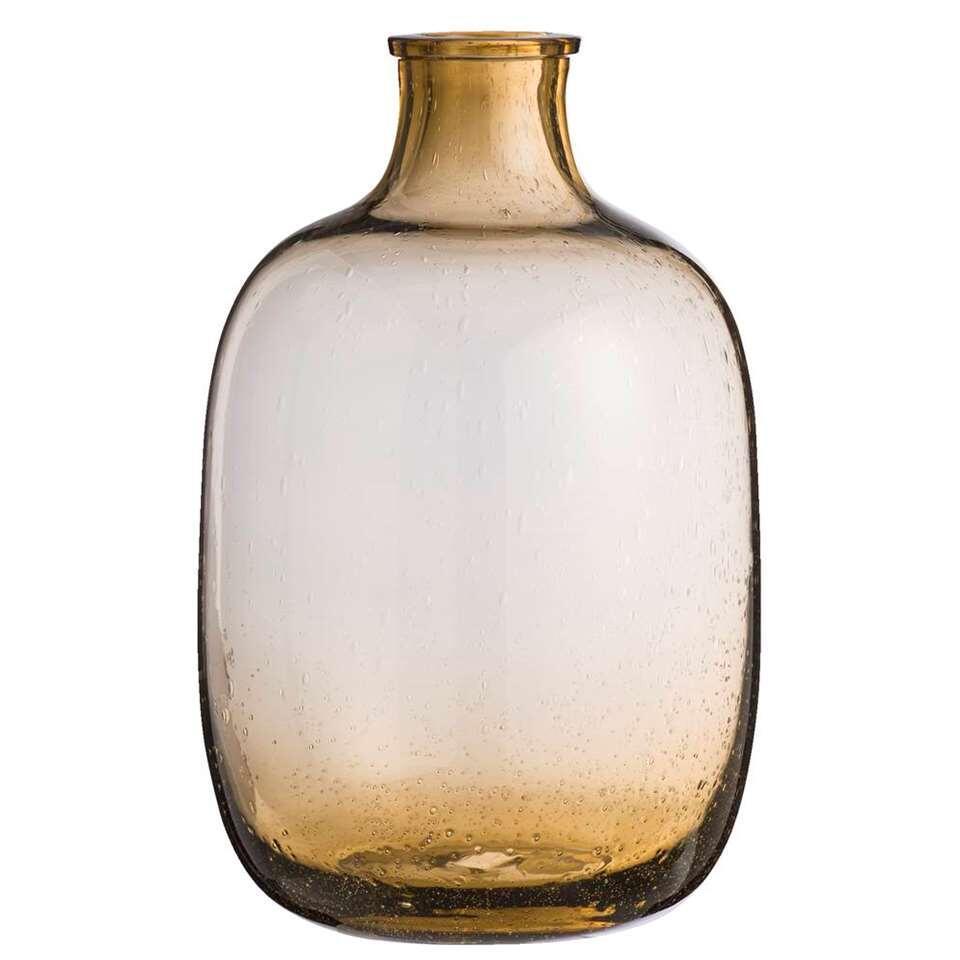 Vaas Rowan - bruin - 35x22 cm