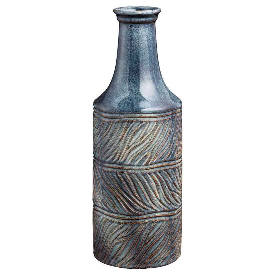 Vaas Adam - donkerblauw - 32,5x11,5 cm