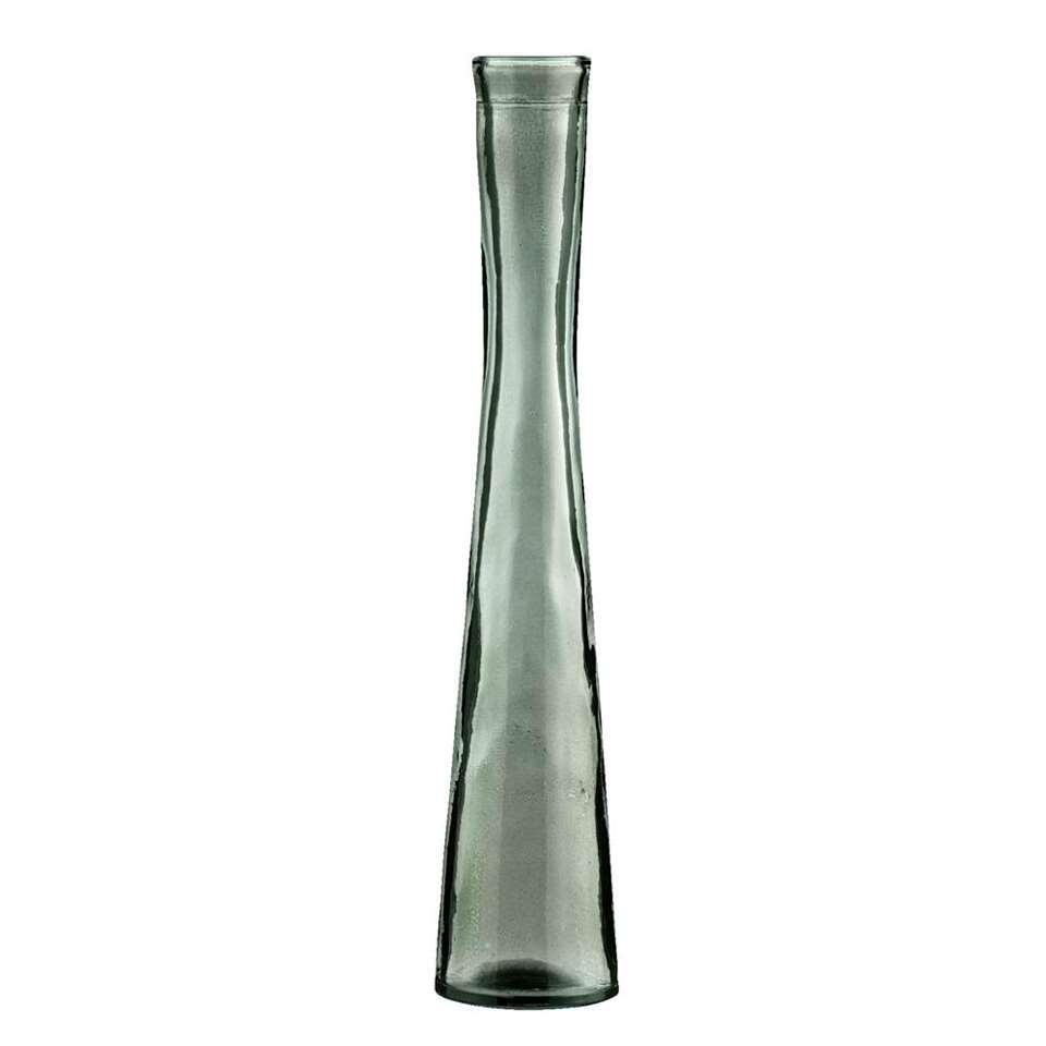 Vaas Noud - zwart/glas - 30x6 cm