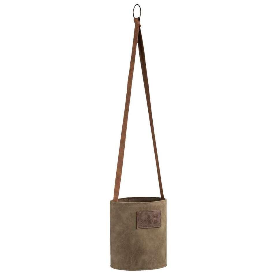 Bloempot hang Henri - groen - 63x13,5 cm