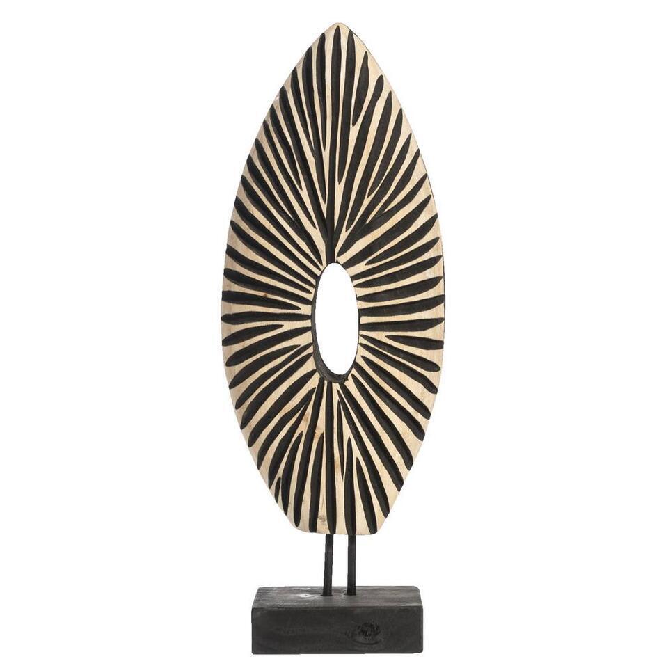 Ornament Michel - naturelkleurig - 17x47x10 cm