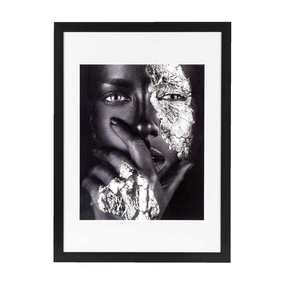 Fotolijst Utrecht - zwart - 50x70 cm