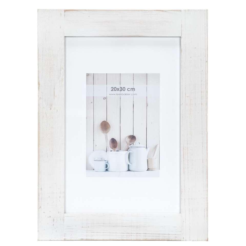Fotolijst Noa - wit - 20x30 cm - Leen Bakker
