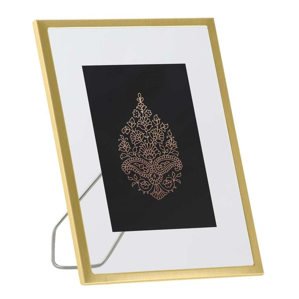 Fotolijst Haarlem - goud - 15x20 cm