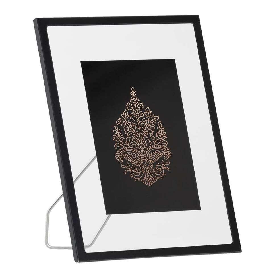 Fotolijst Haarlem - zwart - 15x20 cm