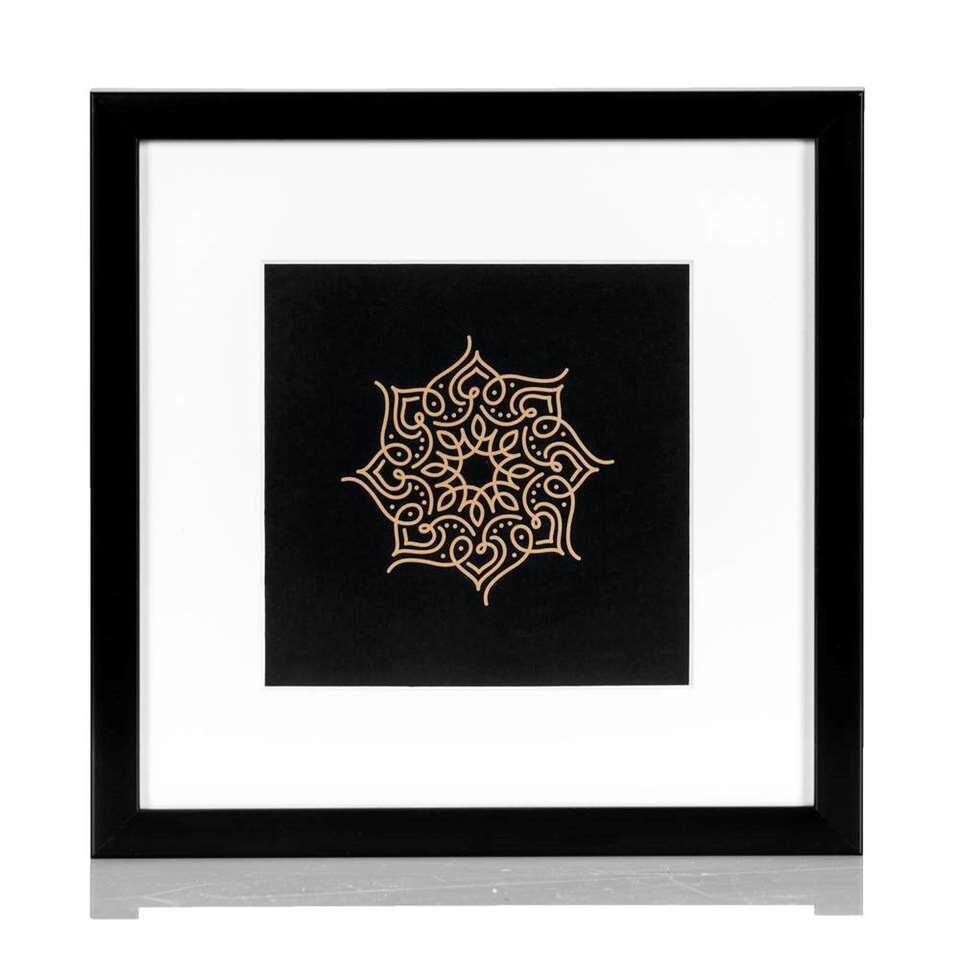 Fotolijst Maribor - zwart - 23x23 cm