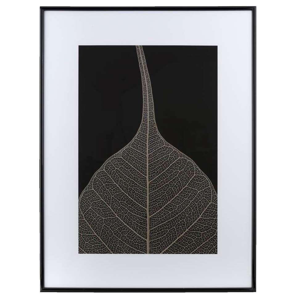 Fotolijst Easy Frame - zwart - 60x80 cm