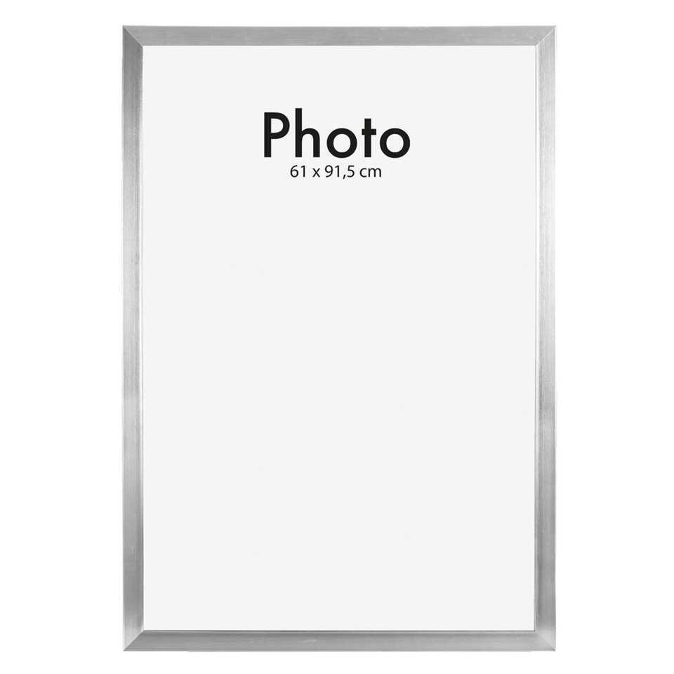 Lijst 61 X 91.Fotolijst Utrecht Zilver 61x91 5 Cm