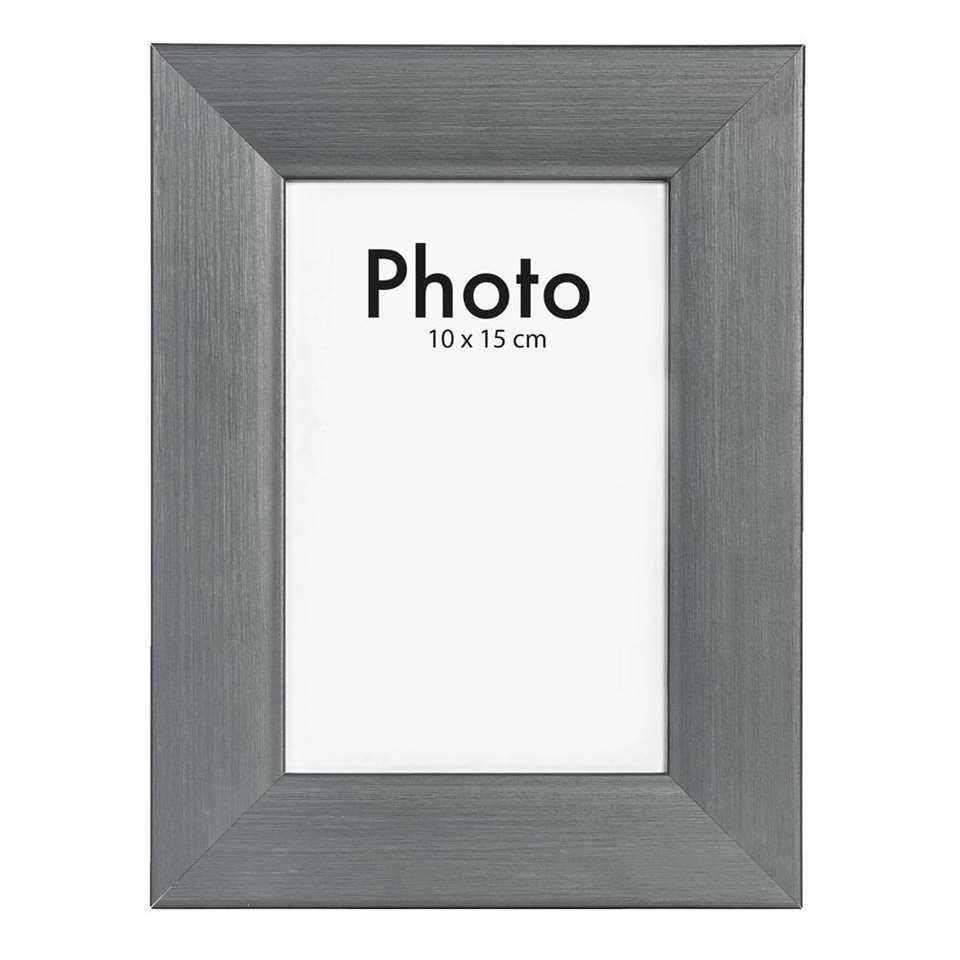 Fotolijst Utrecht - antraciet - 10x15 cm - Leen Bakker