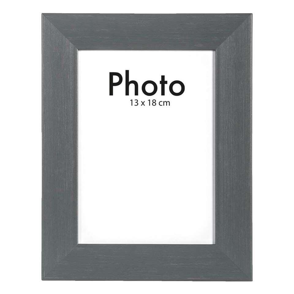 Fotolijst Utrecht - antraciet - 13x18 cm - Leen Bakker