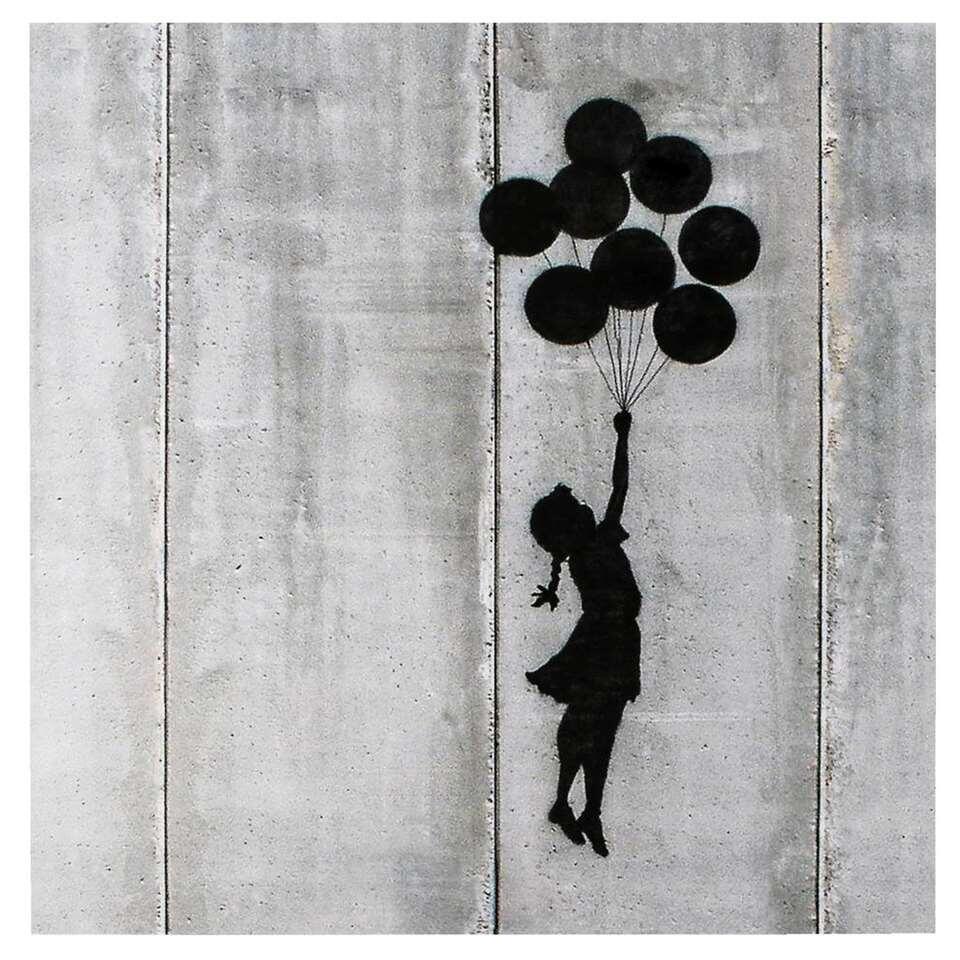 Decopaneel Jerusalem Balloon Girl Banksi - 60x60 cm - Leen Bakker