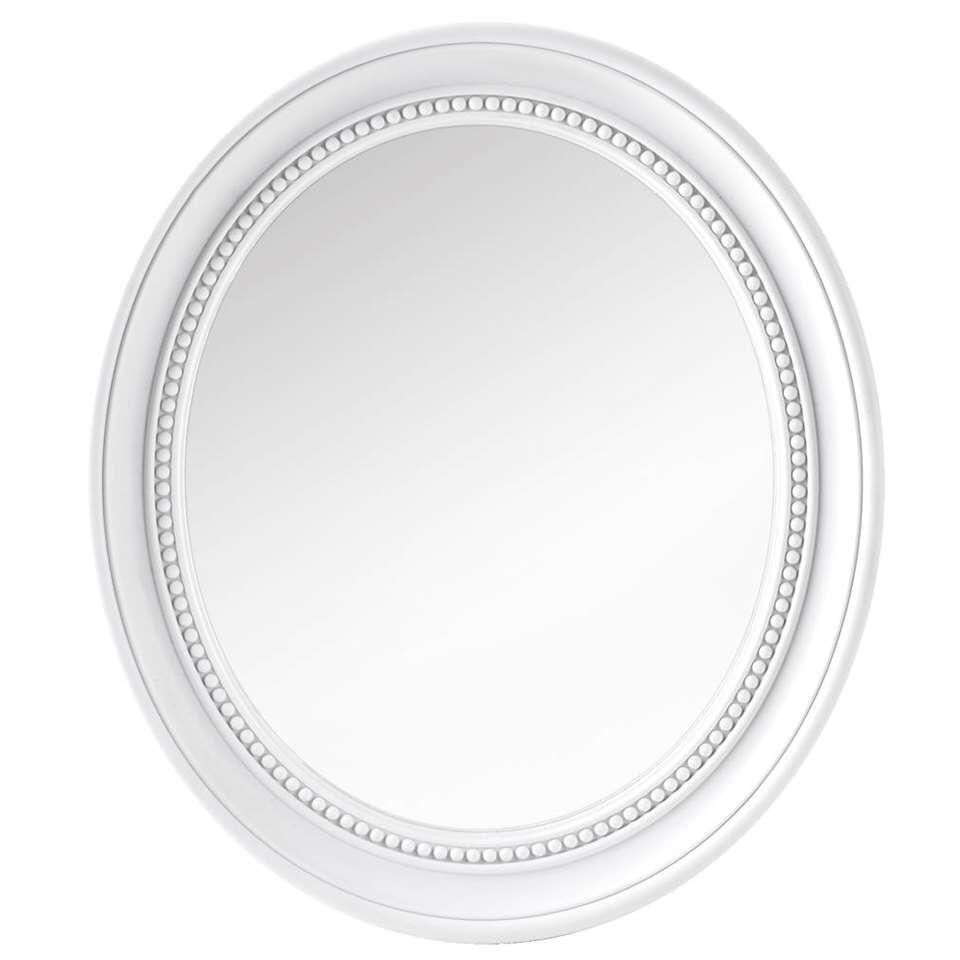 Spiegel Babs – wit – 38,5×33,5×3,5 cm – Leen Bakker