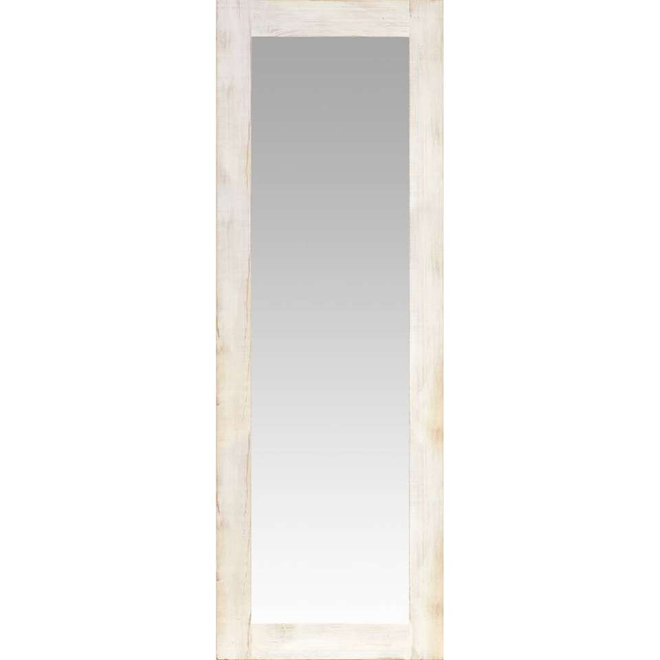 Spiegel Noa – wit – 50×145 cm – Leen Bakker