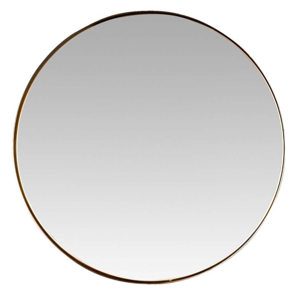 Spiegel Claire – koper – Ø43 cm – Leen Bakker