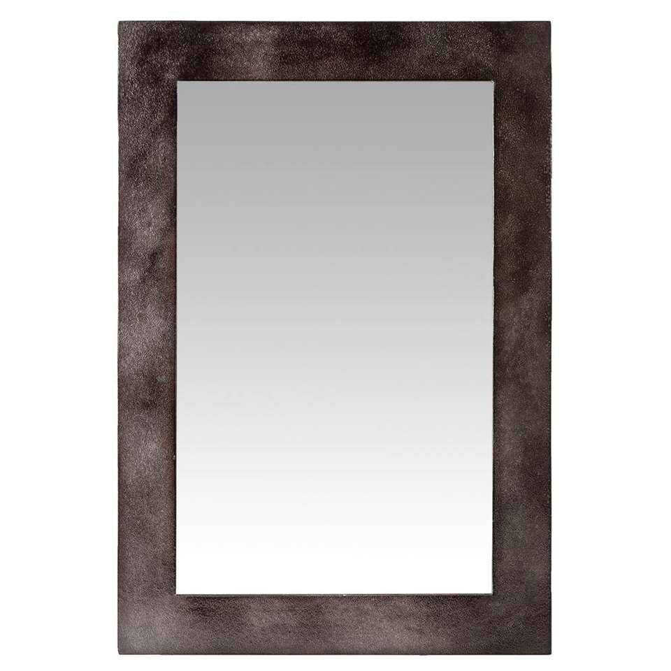 Spiegel Ties – koperkleur – 65,5×45,5×2 cm – Leen Bakker