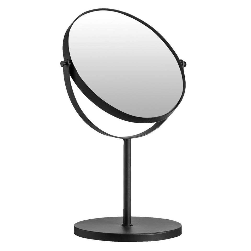 Staande spiegel Frankfurt – zwart – 33x20x15 cm – Leen Bakker