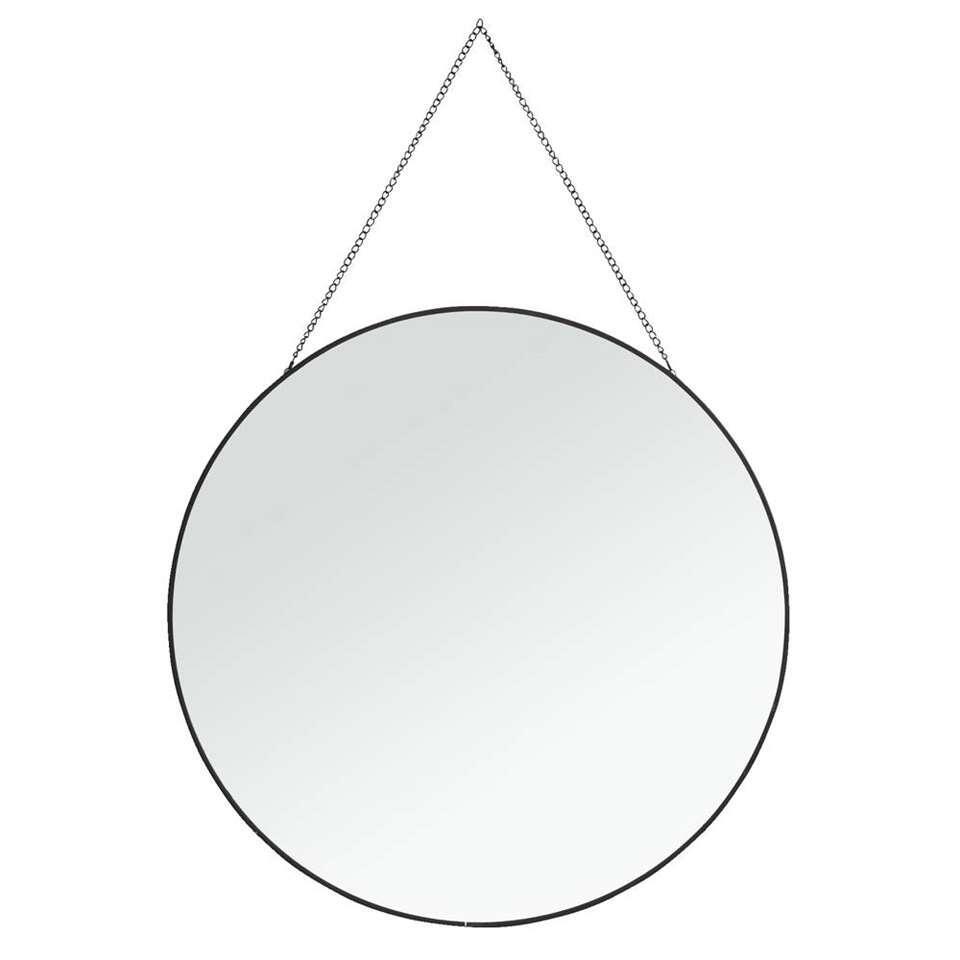 Spiegel Madrid - zwart - 40 cm