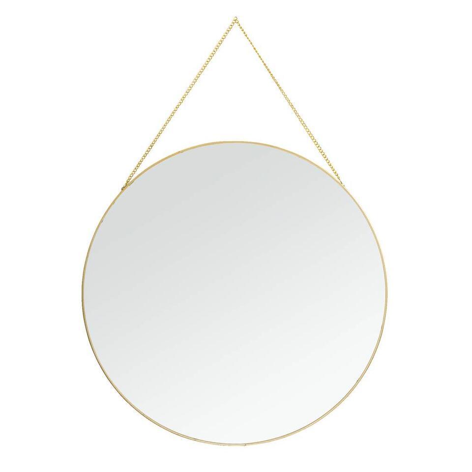 Spiegel Madrid - goud - 40 cm