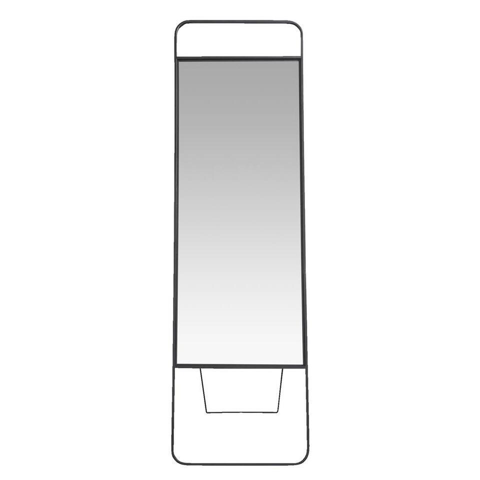 Spiegel Nagoya - zwart - 170x50x2 cm