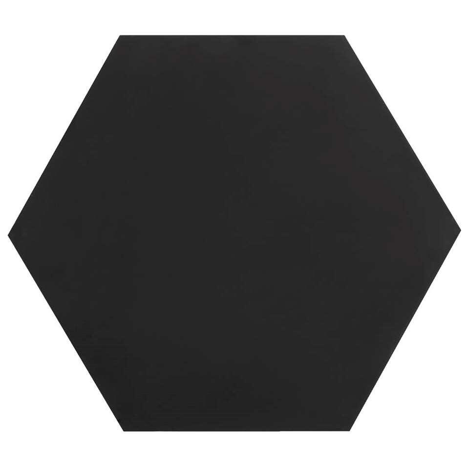 Krijtbord zeskant – 40×32 cm – Leen Bakker