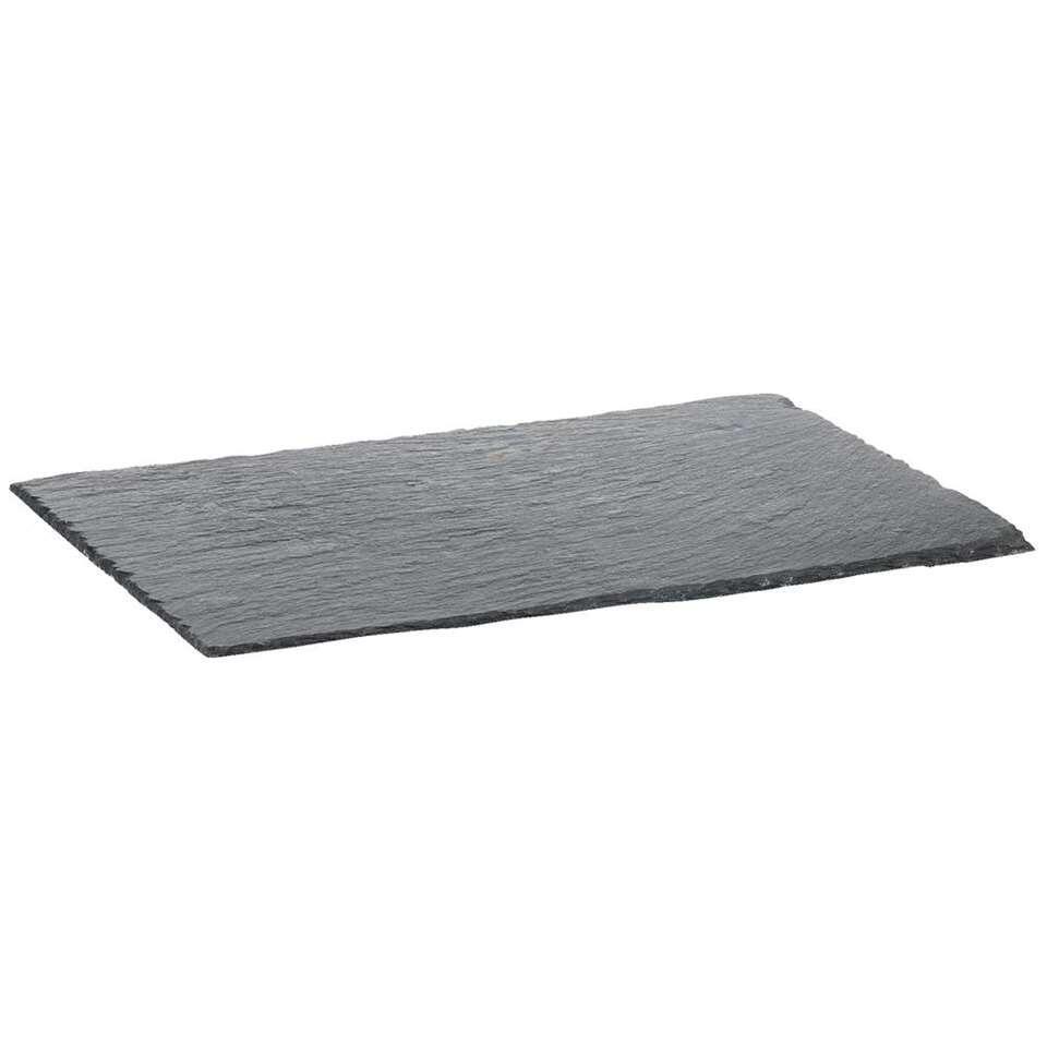 Plateau Marijn - grijs - 30x20 cm - Leen Bakker