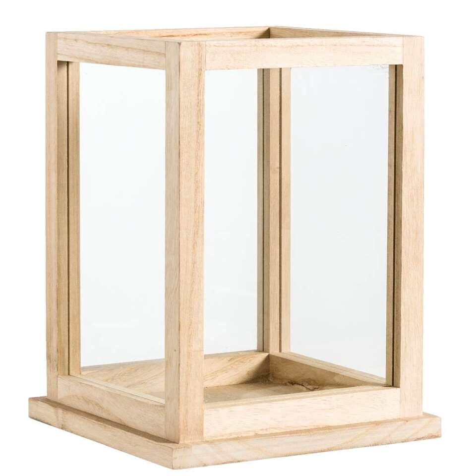 Decoratiebox Olaf – naturel – 28x22x22 cm – Leen Bakker