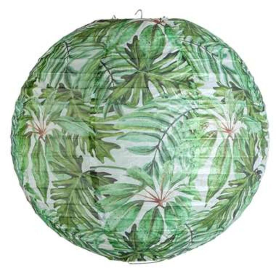 Lampion Tom – groen – Ø30,5 cm – Leen Bakker