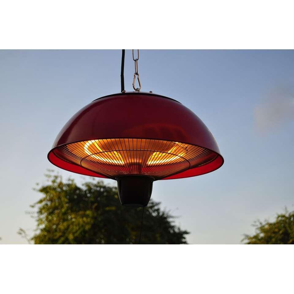 Plafond Heater 1500W - rood - Leen Bakker