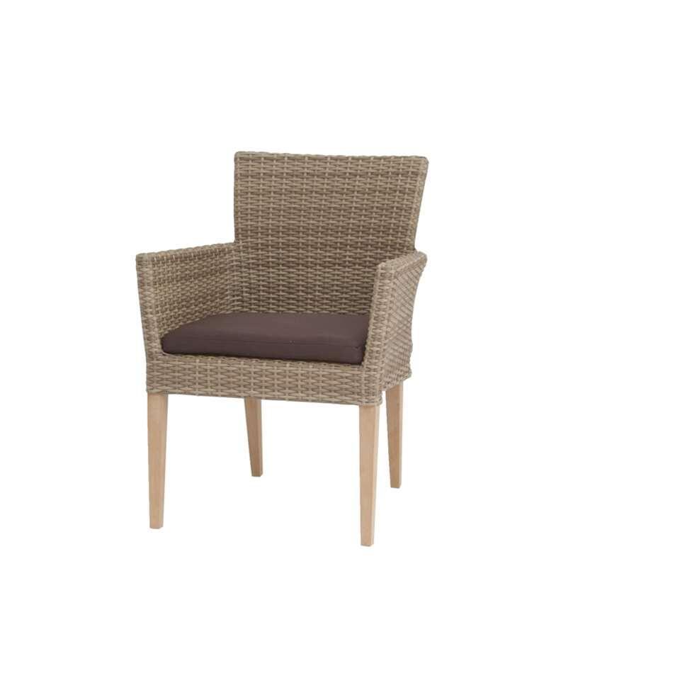 Siena Garden fauteuil Belmont – zandkleur – Leen Bakker