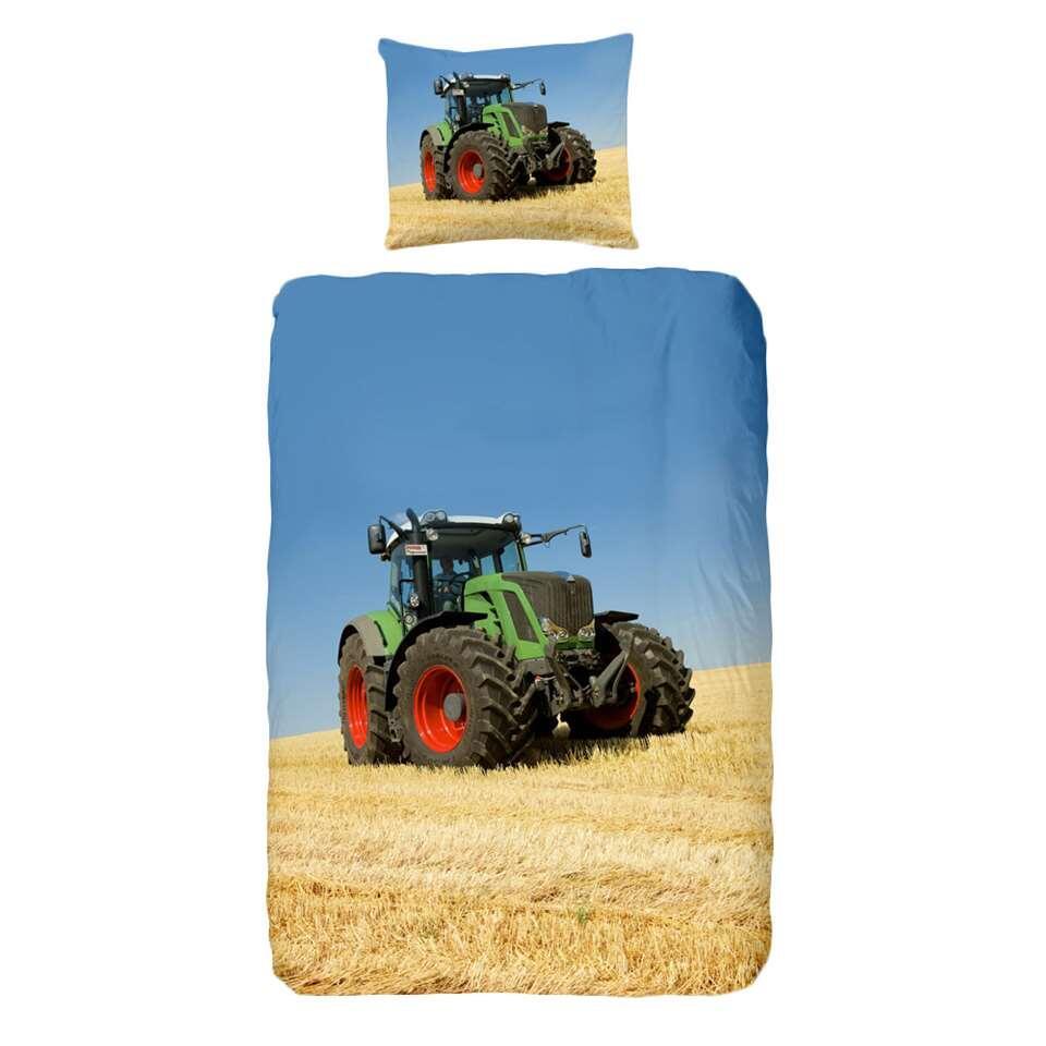 Good Morning dekbedovertrek Tractor - multikleur - 140x200/220 cm