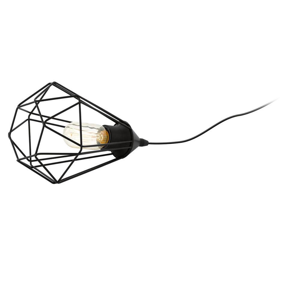 EGLO tafellamp Tarbes - zwart