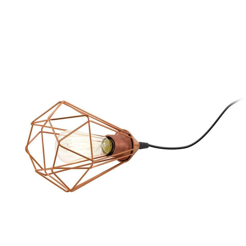 EGLO tafellamp Tarbes - koperkleur - Leen Bakker