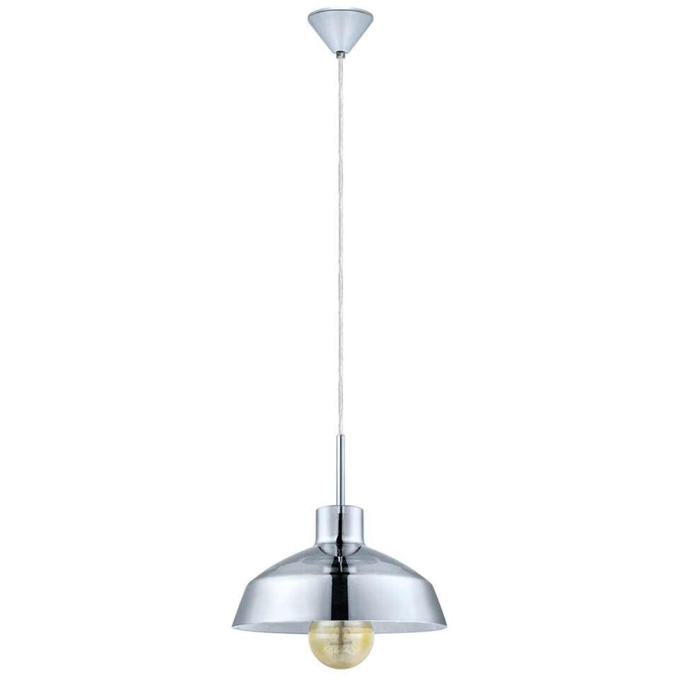 EGLO hanglamp Brixham - chroom - Leen Bakker