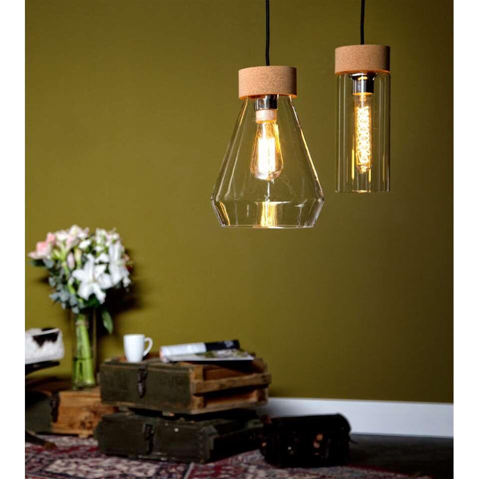 EGLO hanglamp Brixham - helder/chroom