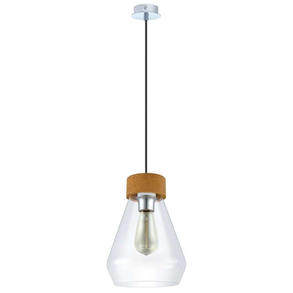EGLO hanglamp Brixham - helder/chroom - Leen Bakker