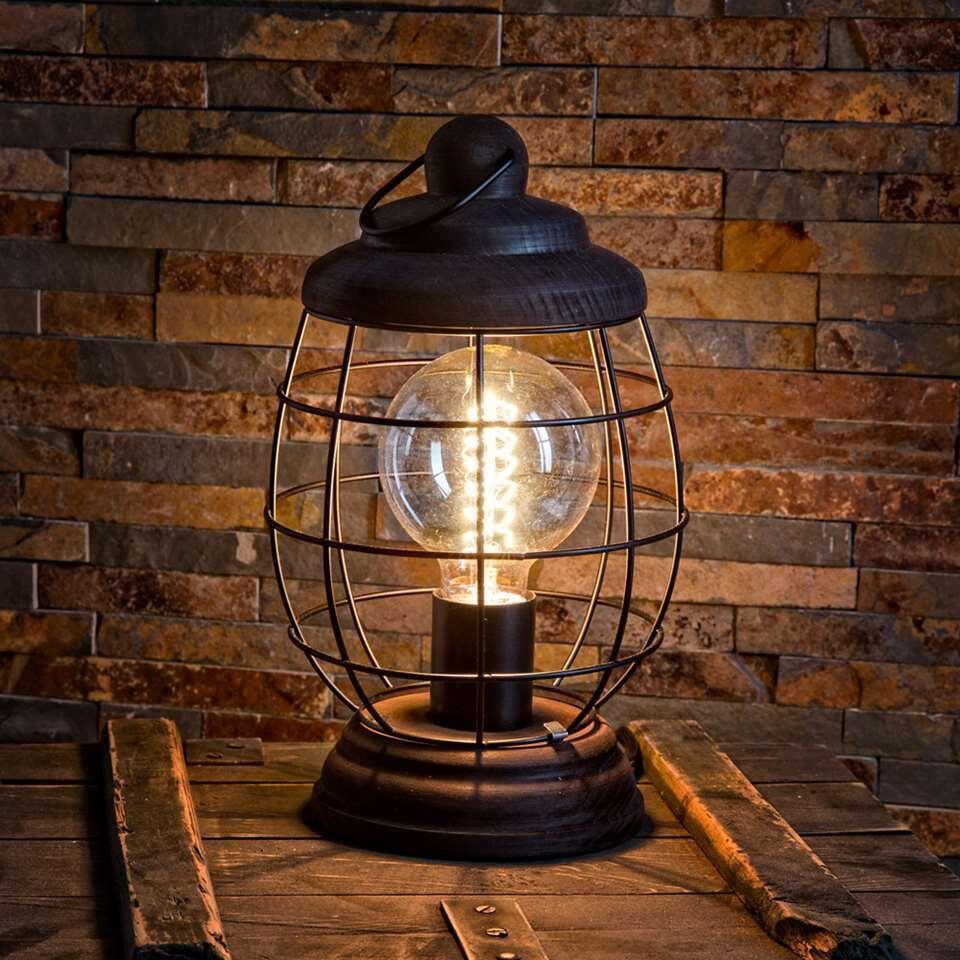 EGLO tafellamp Bampton - bruin - Leen Bakker