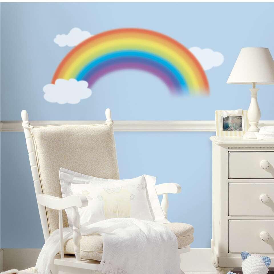 RoomMates muursticker Over the Rainbow - Leen Bakker